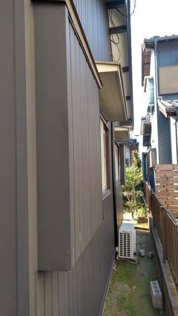外壁貼替工事