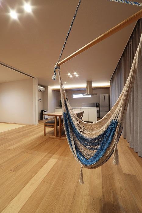 drapeとhammockの家