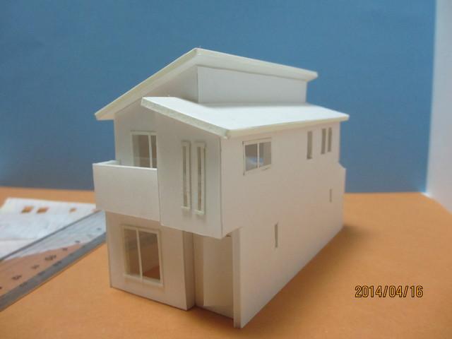 設計からの模型