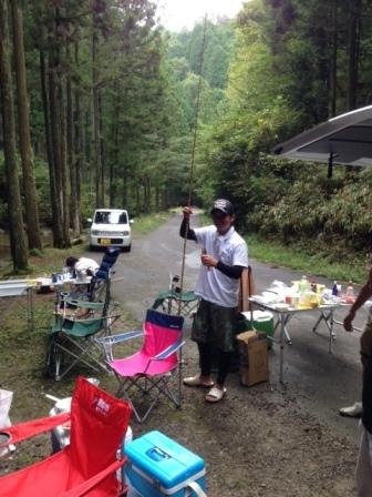 BBQ&マス釣り大会